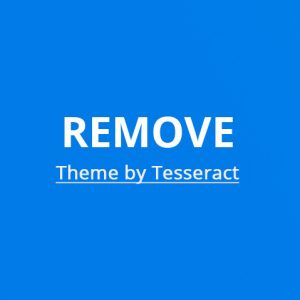 remove-theme-by-tesseract