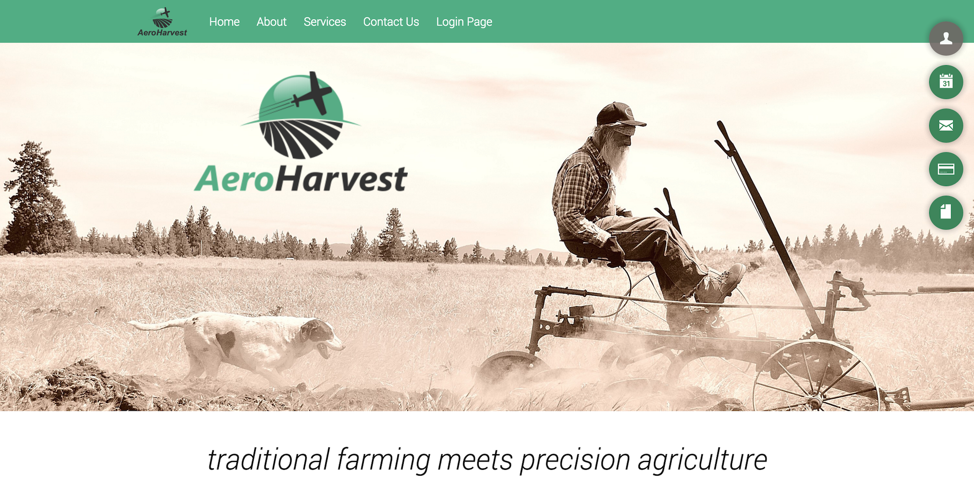 AEROHARVEST   Take advantage of the latest in agricultural UAV technology used in our professional crop consulting services