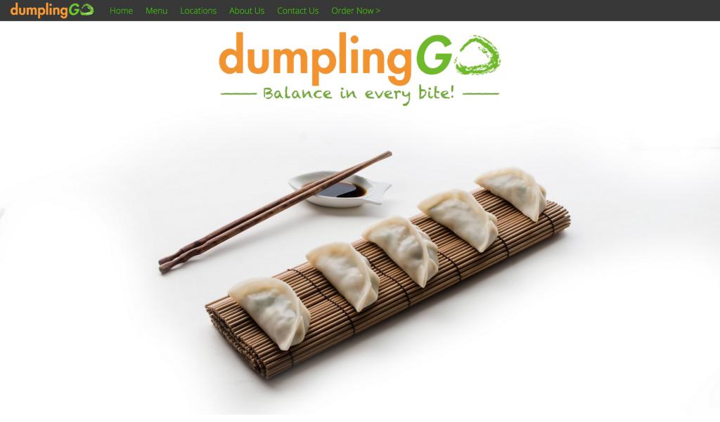 DumplingGo   Healthy   Delicious with every bite
