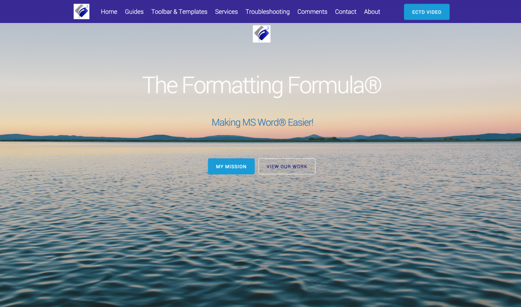 Home – The Formatting Formula