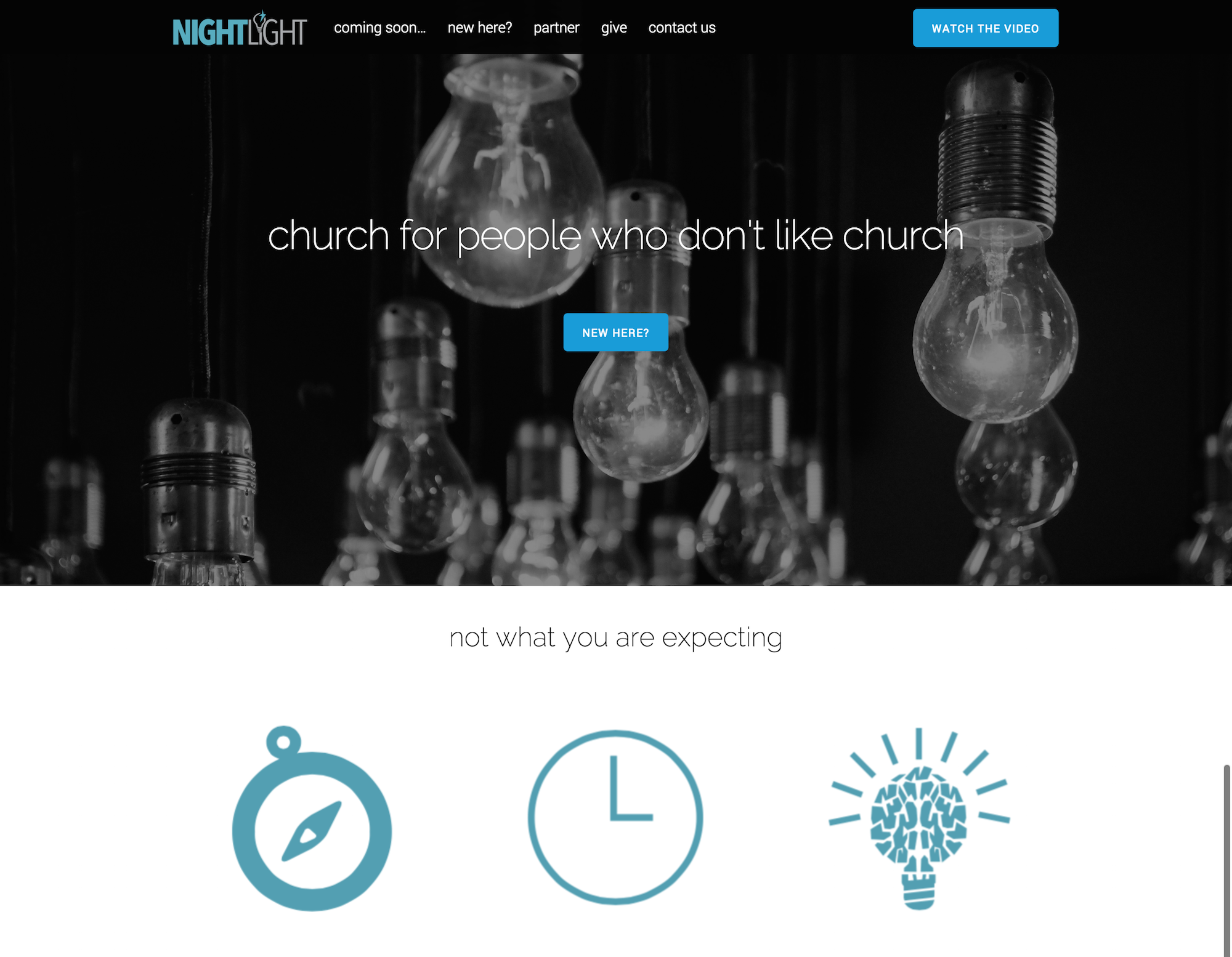 Nightlight Church   a church for people who don t like church
