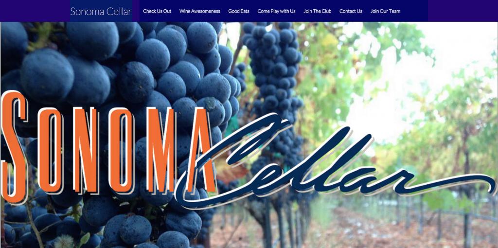 Sonoma Cellar   A Taste Of California
