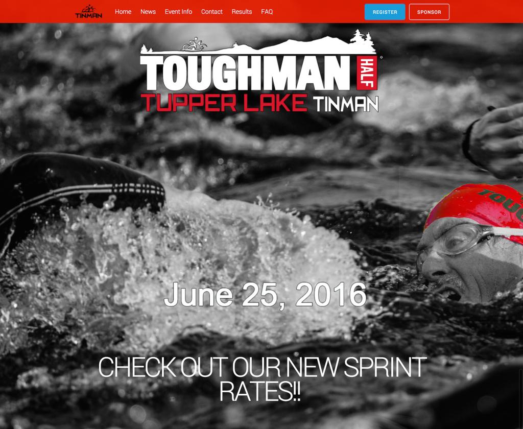 Tinman   TOUGHMAN Tupper Lake Tinman Triathlon