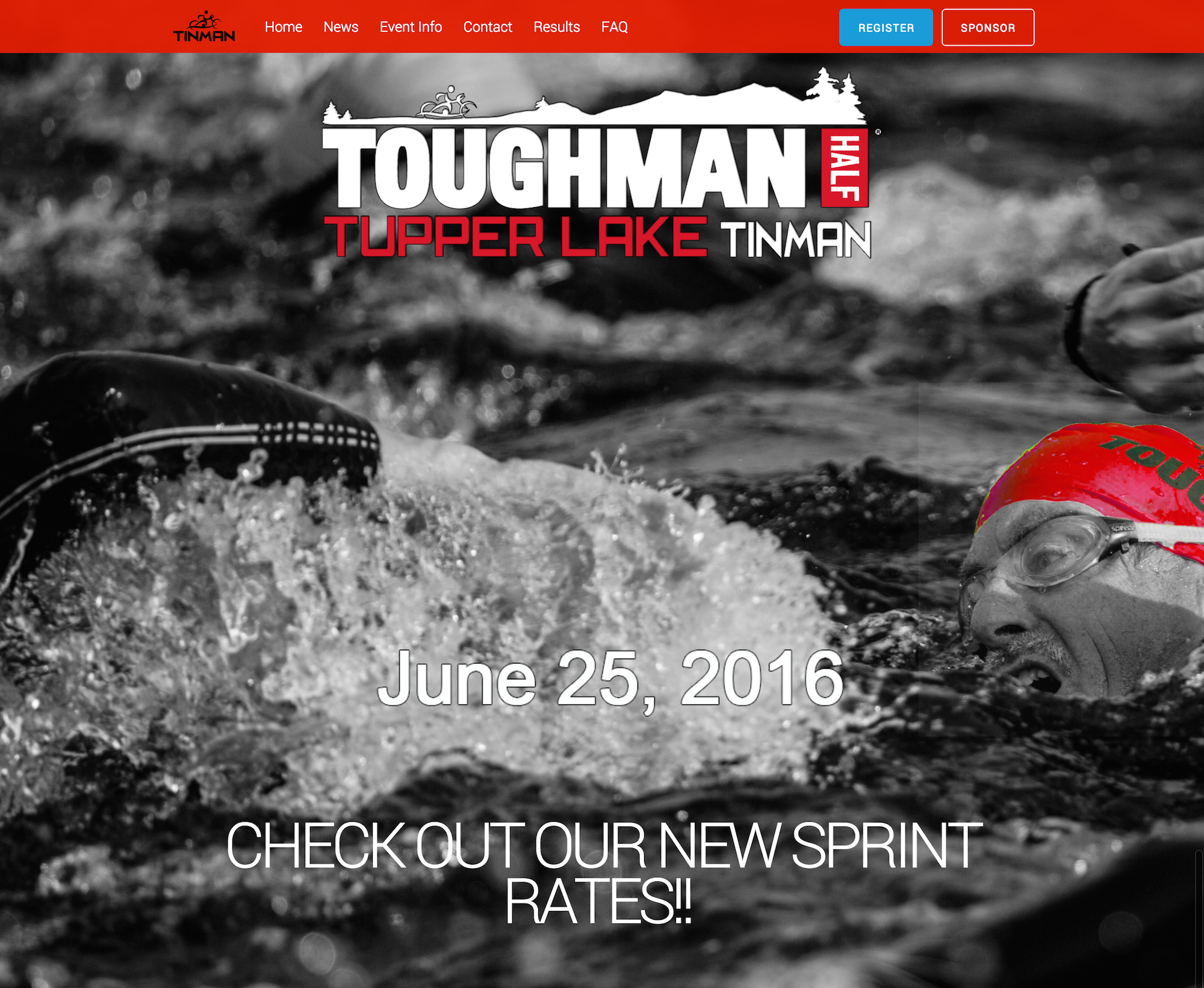 Tinman   TOUGHMAN Tupper Lake Tinman Triathlon